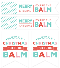 eos lip balm candies and free printable gift tags
