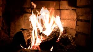 live fire of a fireplace royalty free video and stock footage