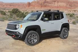 new jeep renegade concept modded jeep renegade commander concept from moab ejs 2016 day 3