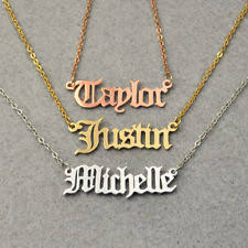 custom name jewelry custom jewelry ebay