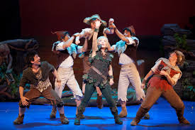 halloween event in chicago review cathy rigby is peter pan broadway in chicago lost boys