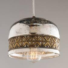 Diy Glass Chandelier Prism Framed Mercury Glass Chandelier Light Shades Of Fair Image