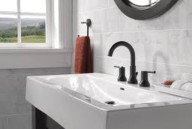 black faucets matte black style for the bathroom