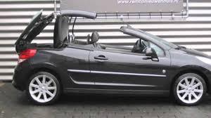 peugeot 207 convertible peugeot 207 cc 1 6 vti 16v 120pk roland garros youtube