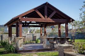 Out Door Patio Outdoor Patio Structure For Entertaining In Katy Tx Traditional