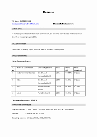 infosys resume format for freshers pdf creator 50 beautiful image of software testing resume format for freshers