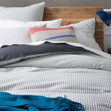 ticking stripe comforter ticking stripe comforter home assets