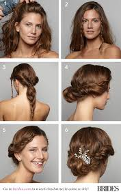 wedding hairstyles step by step instructions wedding hairstyle 101 a braided updo brides