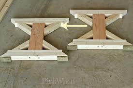 build a farmhouse bench paperblog