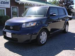 earthy cars blog earthy cars of the week 2008 dark blue scion xb