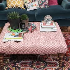 How To Style A Coffee Table How To Style Up Your Footstool Or Coffee Table U2013 Sophie Robinson