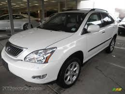 white 2009 lexus rx 350 for sale 2009 lexus rx 350 awd in crystal white mica 099014