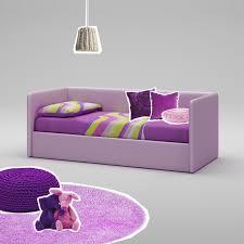 canapé couleur lit canapé en imitation cuir couleur lila compact so nuit