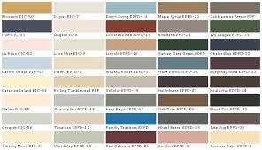 pratt and lambert colors house paint color chart chip sample home