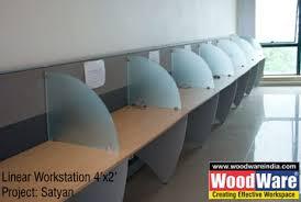 Office Workstation Desk Woodware Modular Office Furniture Workstations