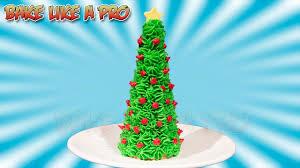 easy sugar cone christmas tree recipe youtube
