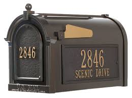 mailbox without post decorative curbside mailboxes only