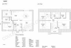 plan de maison 5 chambres chambre plan maison 120m2 4 chambres high definition