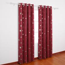 Red Eclipse Curtains Deconovo Curtains Christmas Holiday Sale U2013 Ease Bedding With Style