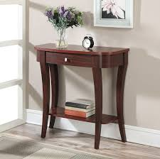 convenience concepts console table amazon com convenience concepts modern newport console table