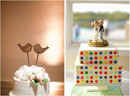 quirky and unique wedding cake toppers