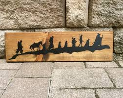 Lord Of The Rings Decor Lotr Home Decor Etsy