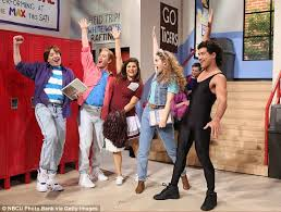 saved by the bell stars reunite on the tonight show with jimmy