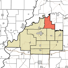Time Zone Map Indiana by Washington Township Gibson County Indiana Wikipedia