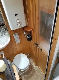 camper van with bathroom ldv convoy luton home beyond the van