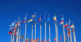 Flags Of European Countries Eu Strikes Deal To Boost Emissions Trading Scheme Carbon Brief