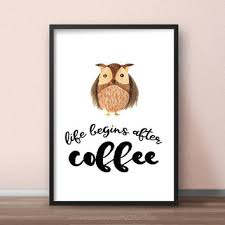 printable owl art best owl kitchen decor products on wanelo