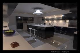 modern kitchen art a large modern kitchen by xirys on deviantart