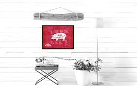 Pig Decor For Home by Pig Meat Cuts Butchers Chart Home Decor Wall Art Decoration Frames