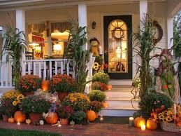 Decorations For Front Of House Best 25 Fall Front Porches Ideas On Pinterest Front Porch Fall