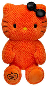 Halloween Kitty by Build A Bear Orange Hello Kitty Halloween Pumpkin Themed 18 In Hk