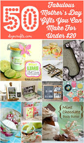 50 fabulous mother u0027s day gifts you can make for under 20 diy