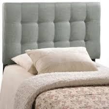 Grey Upholstered Headboard Twin Full Queen King Gray Upholstered Headboard Wall Frame Mount