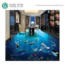 non slip digital dolphin bathroom tile 3d ceramic floor tile
