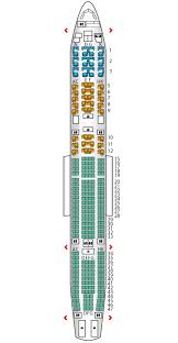 a340 seat map a340 600 etihad airways seat maps reviews seatplans com