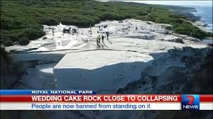 wedding cake rock 7 news sydney wedding cake rock now banned from