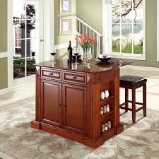 powell kitchen islands cherry kitchen islands with rectangle shape brown