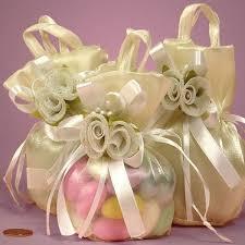 wedding cake bags iridescent fabric bags ivory flower fabric bag ordinary