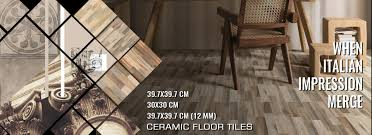 ceramic floor tiles series with size color and design variation