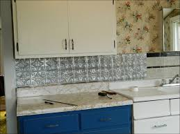 Kitchen Backsplash Stick On Kitchen Backsplash Stainless Steel Subway Tile Backsplash Peel
