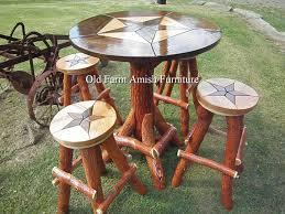 custom made rustic log