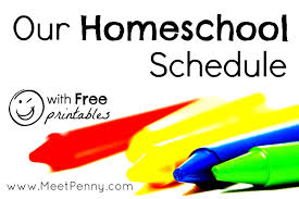 free home school our homeschool schedule with free printables to make easier
