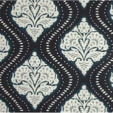 Home Decor Fabrics Kavali Ogee Midnight Home Decor Fabrics Fabric Traders