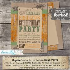 what does rsvp mean in english on an invitation reptile invitation instant download editable u0026 printable