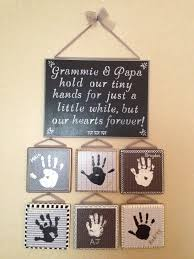 great gift for grandparents handprint ideas pinterest