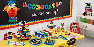 preschool graduation decorations schoolhouse chalkboard graduation party supplies party city canada